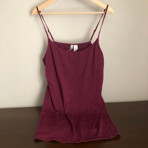 Maroon camisole